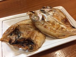 氷下魚とノドグロ