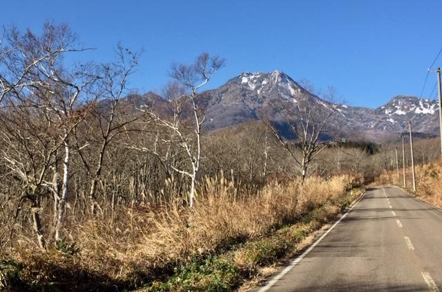 秋晴れの妙高山